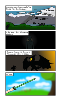 Wings in to the Abyss Page1 by oOEyedragonOo