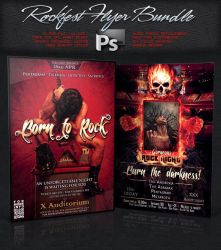 Rockfest Flyer Bundle / Pack by squizmo