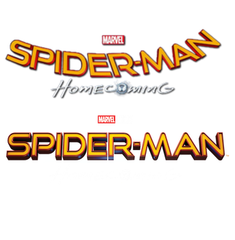 Spider-Man Homecoming - All Titles Transparent by Asthonx1