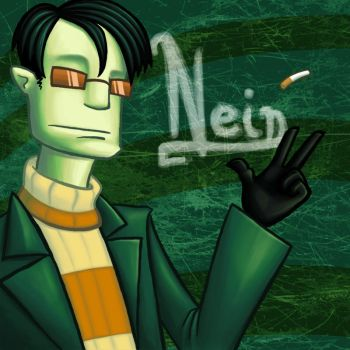 Agent NEIN by quizzicality