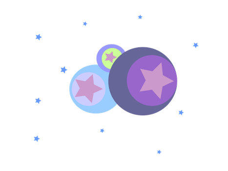 Stars and Circles Design by jadedlioness