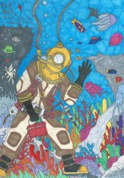 Etheral Diver by B-Boogie-Bruh