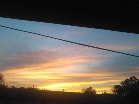 South Atlanta Sunset by amyraines31