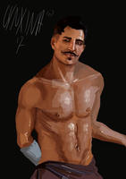 Dorian the bae by Lynxina