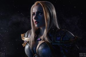 Jaina Proudmoore portrait I by Narga-Lifestream