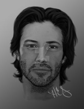 KeanuReeves by SpiffyMai
