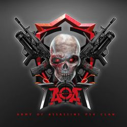 Army of Assassins PS4 CLAN LOGO COMISSION by angelcanohn