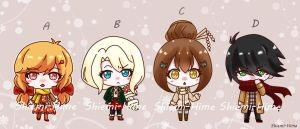 AUTUMMN ADOPTABLES batch [OPEN] by Shiemi-Hime