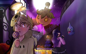 Pokemon - Halloween Art