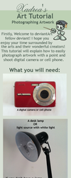 Art Tutorial: How to Photograph Artwork by Xadrea