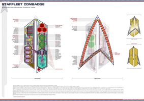 NX-79200: Starfleet Combadge by Warpcoreejection