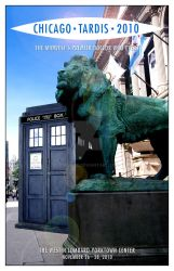 Chicago TARDIS 2010 cover mk1