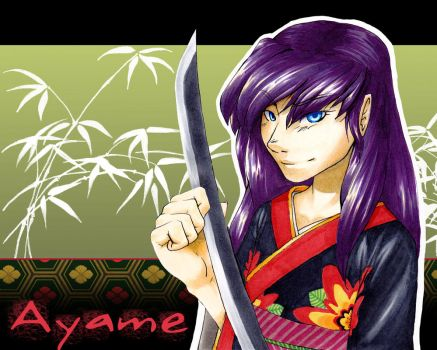 In Ayame's Eyes by Dhavita