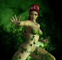 Poison ivy Asian by MsLiang