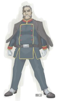 MAKRO on his military suit concept... by kebogai