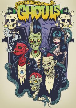 Wicked n Twisted Ghouls by HorrorRudey