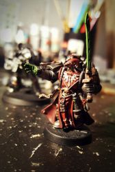 40k gotc librarian by evldemon