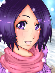 Rukia: On a Winter's Day by BitterSweetNitemare