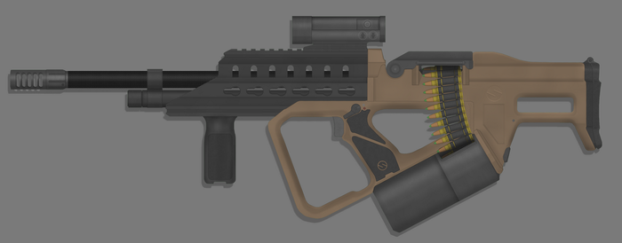 Sweetwater Precision Weapons 'Shockwave' LMG by TastyJuice