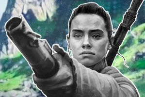 Rey- Digital Painting by mkmatsumoto