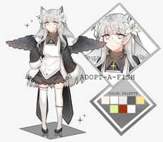 [CLOSED] Pure Lily Frankenstein Kemonomimi by Adopt-A-Fish
