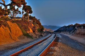Summer Pacific Coast Tracks by dx