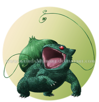 Bulbasaur for a Collab by Weirda-s-M-art
