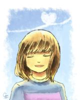 Frisk smiling by Cvanov