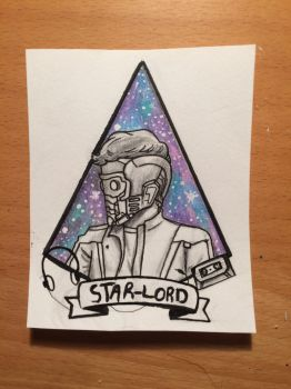 Star-lord by magicandscrews