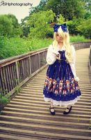 Snow White Lolita in Blue by PandoraBakura