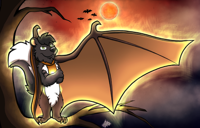 Worst squirrel-bat ever by A-Kitsune700