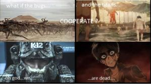 what if....? ((attack on titan x starship troopers by JOHN-ALUCARD-HELLSIN