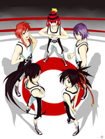 MM: For Boxing Club by lushan