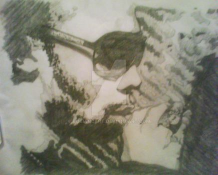 RZA press photo in stencil by bobiancart