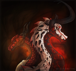 Eranomous and Bloodshot (Gift) by RhynoBullraq