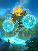 Hearthstone - Animus Storm Elemental by namesjames