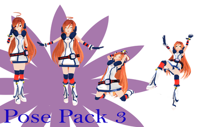 MMD Pose Pack 3 by MMD-Nay-PMD