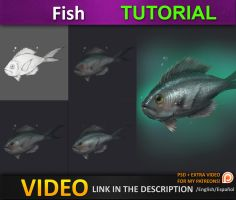 Painting a Fish tutorial by JesusAConde