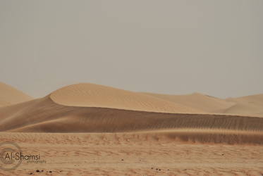 The Empty Quarter by A-Shamsi