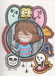 Undertale Fanart 1 by Jellyfish-Magician