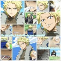 Fairy Tail Sting Eucliffe Collage Anime by YuukiScarlet11