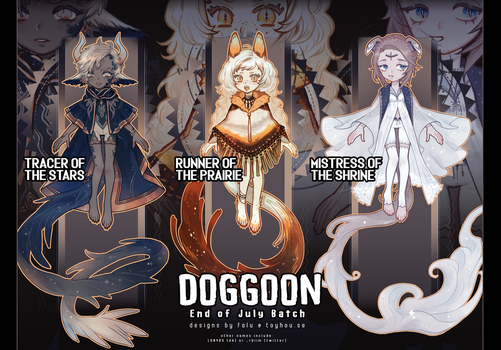 [Auction] Doggoon Batch [[CLOSED]] by ldn483