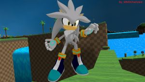 MMD Sonic Newcomer - Silver +DL+ by MMDCharizard
