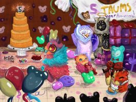 Let's Party! (Taum event) by GAMERSTYLE73