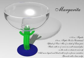 Margarita Glass with recipe by DIN1031