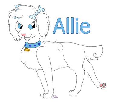 Allie reference by Eevee33