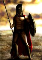 King Leonidas Final by Jonneh86