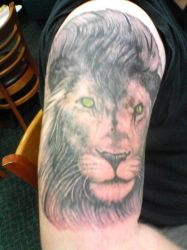 My tattoo by lonelion4ever