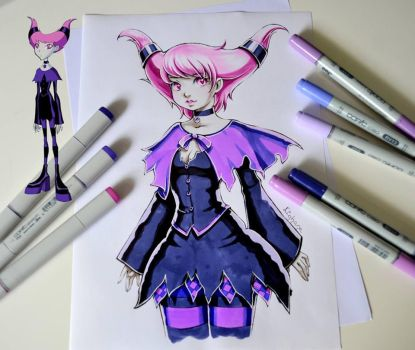 Jinx from Teen Titans by Lighane