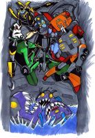 Sharkticons by neoyi